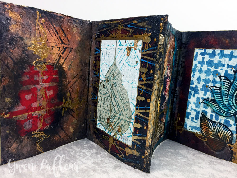 Translucent Art Journal Workshop | Gwen Lafleur